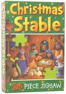 Christmas Stable 24 Piece Jigsaw Game