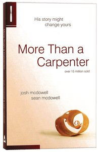 Product: More Than A Carpenter Image