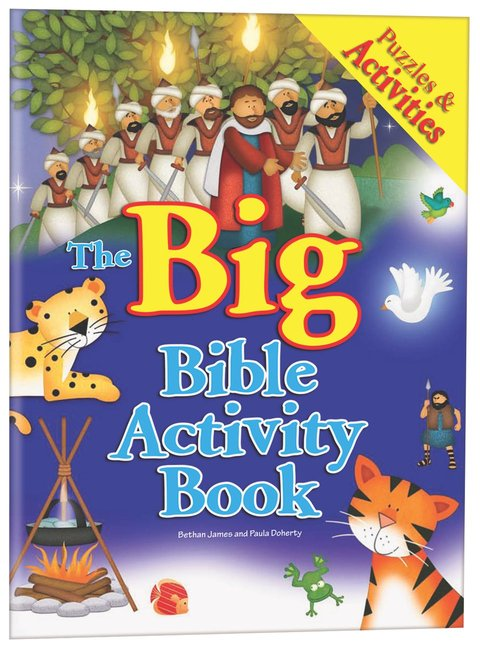 Product: Big Bible Activity Book, The Image