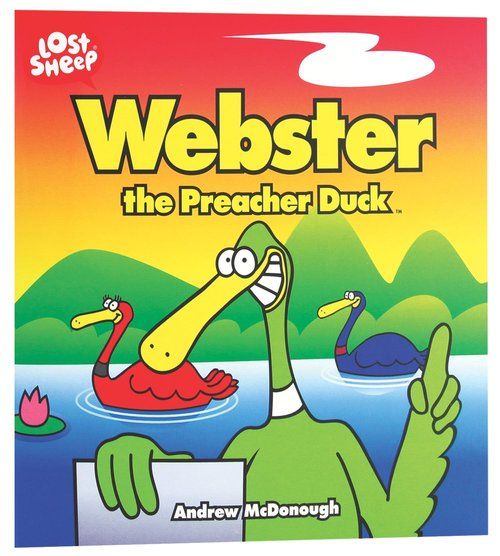 Product: Lost Sheep: Webster, The Preacher Duck Image