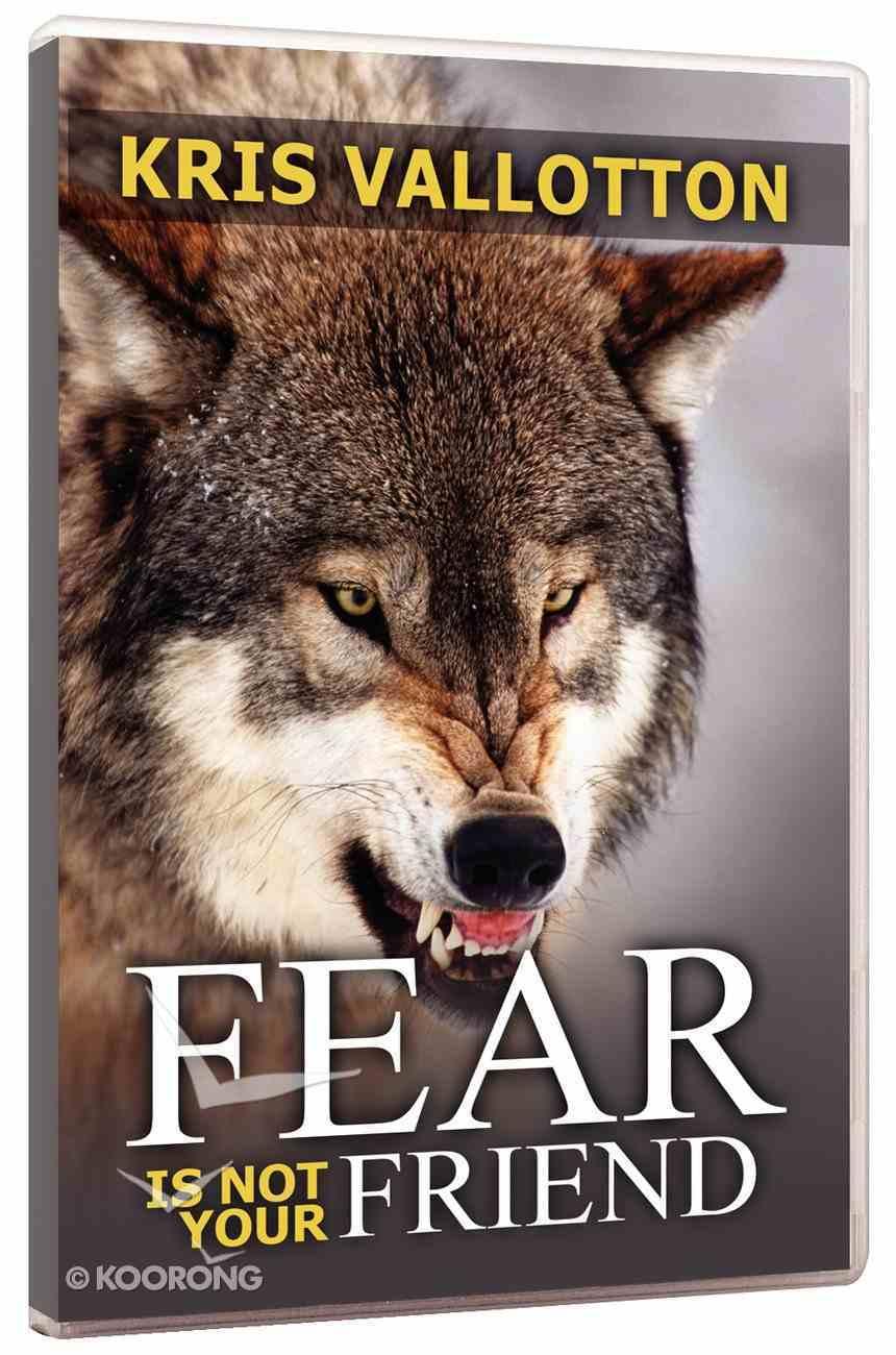 Fear is Not Your Friend DVD