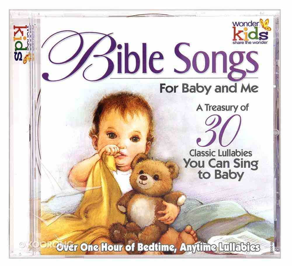 Bible Songs For Baby and Me CD