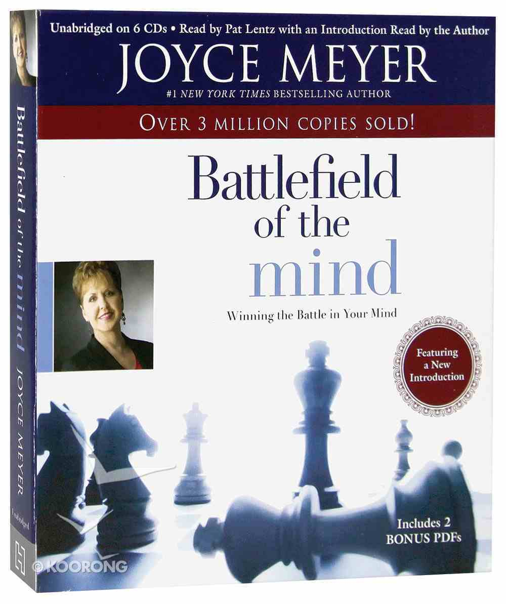 Battlefield of the Mind (6 Cds, Unabridged) CD