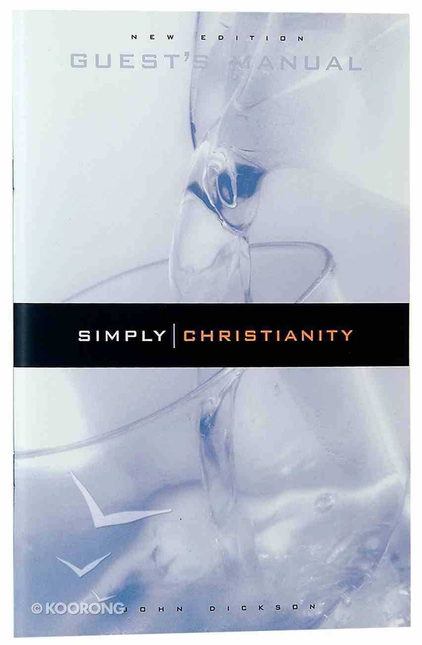 Simply Christianity (Guest's Manual) Paperback