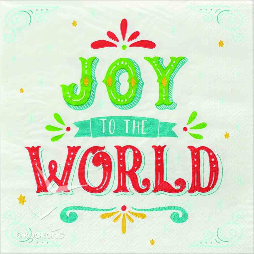 Christmas Napkins: Joy to the World Homeware