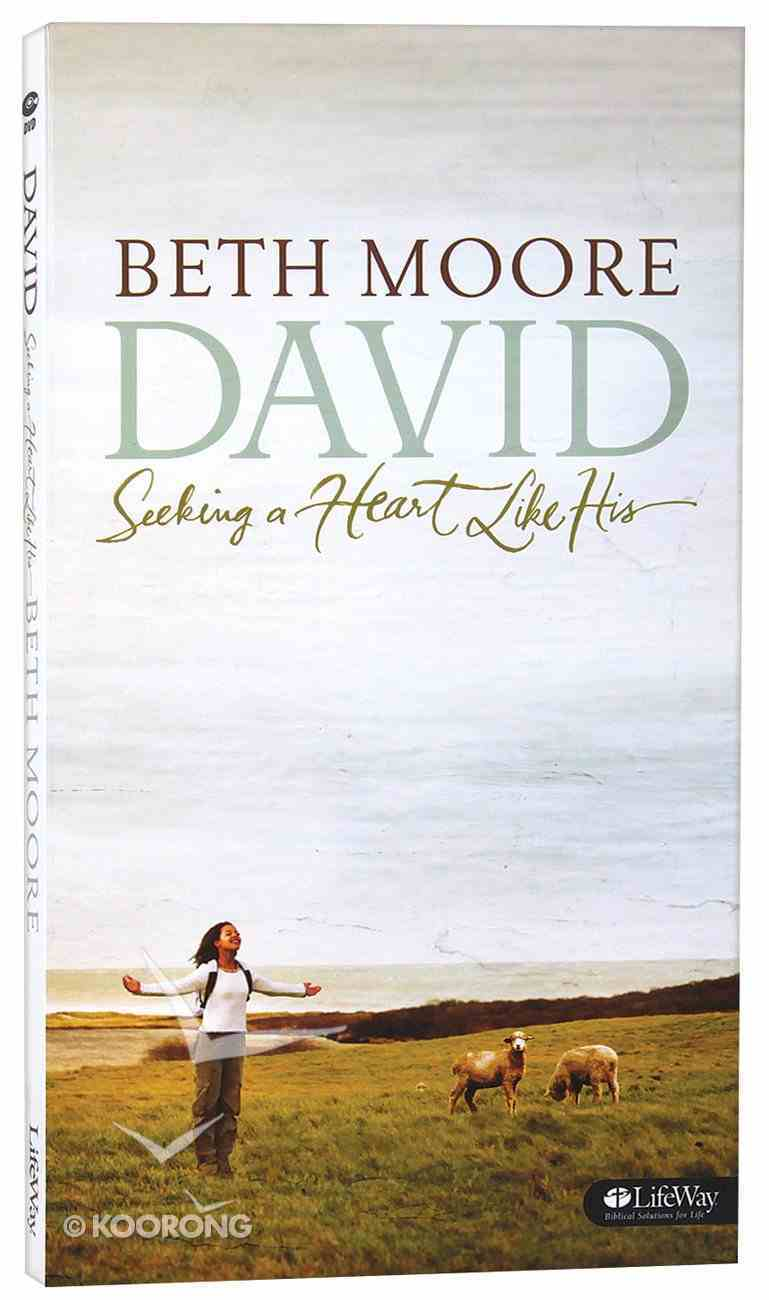 David (6 Dvds): Seeking a Heart Like His (DVD Only Set) (Beth Moore Bible Study Series) DVD
