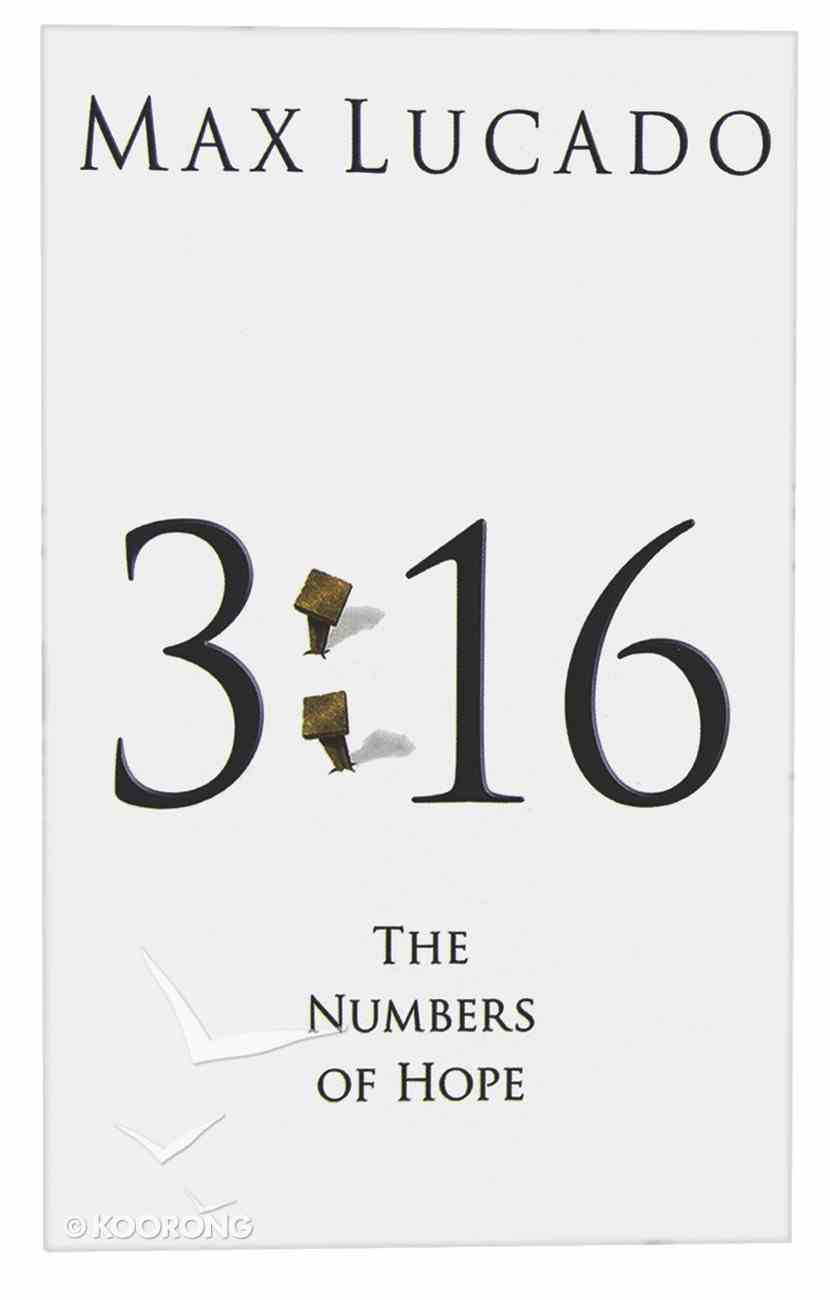3: 16 the Numbers of Hope (25 Pack) Booklet