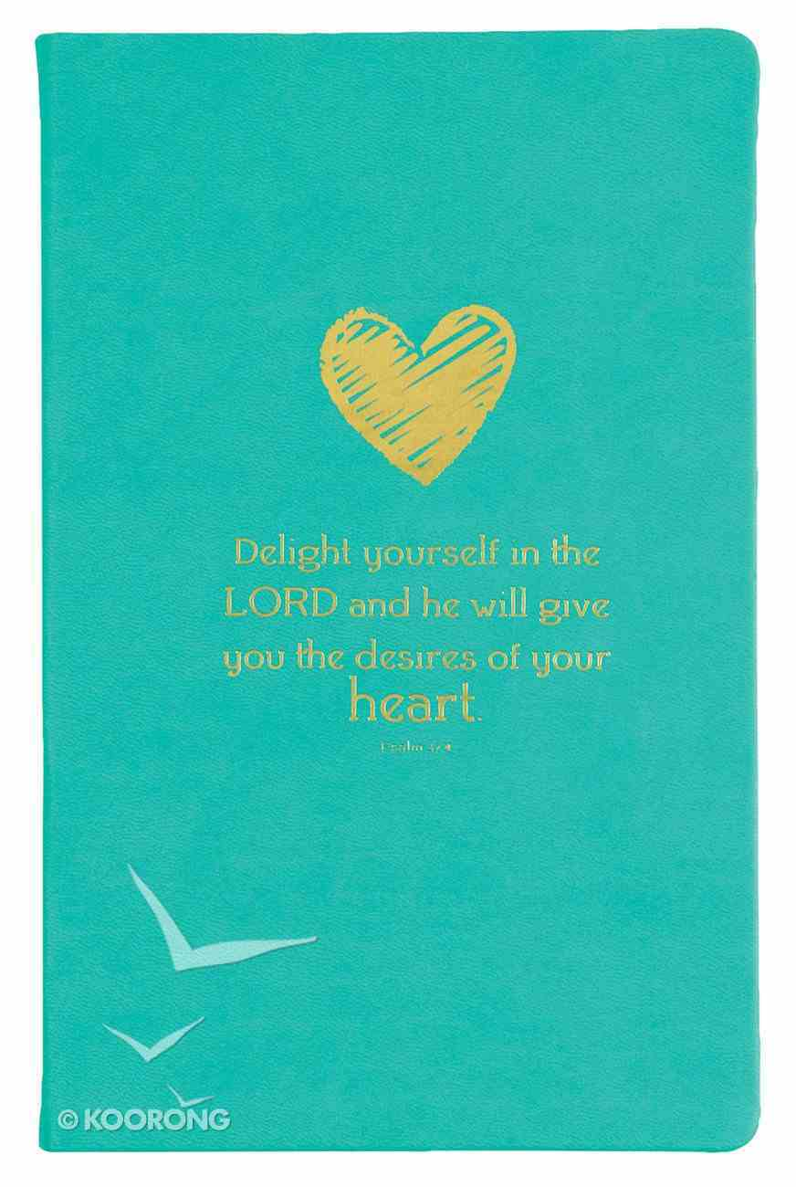Flexi Cover Journal: Delight Yourself in the Lord, 13.9cm X 21.5cm Stationery