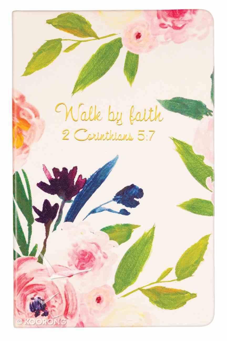Flexi Cover Journal: Walk By Faith, 2 Corinthians 5:7, 13.9cm X 21.5cm Stationery