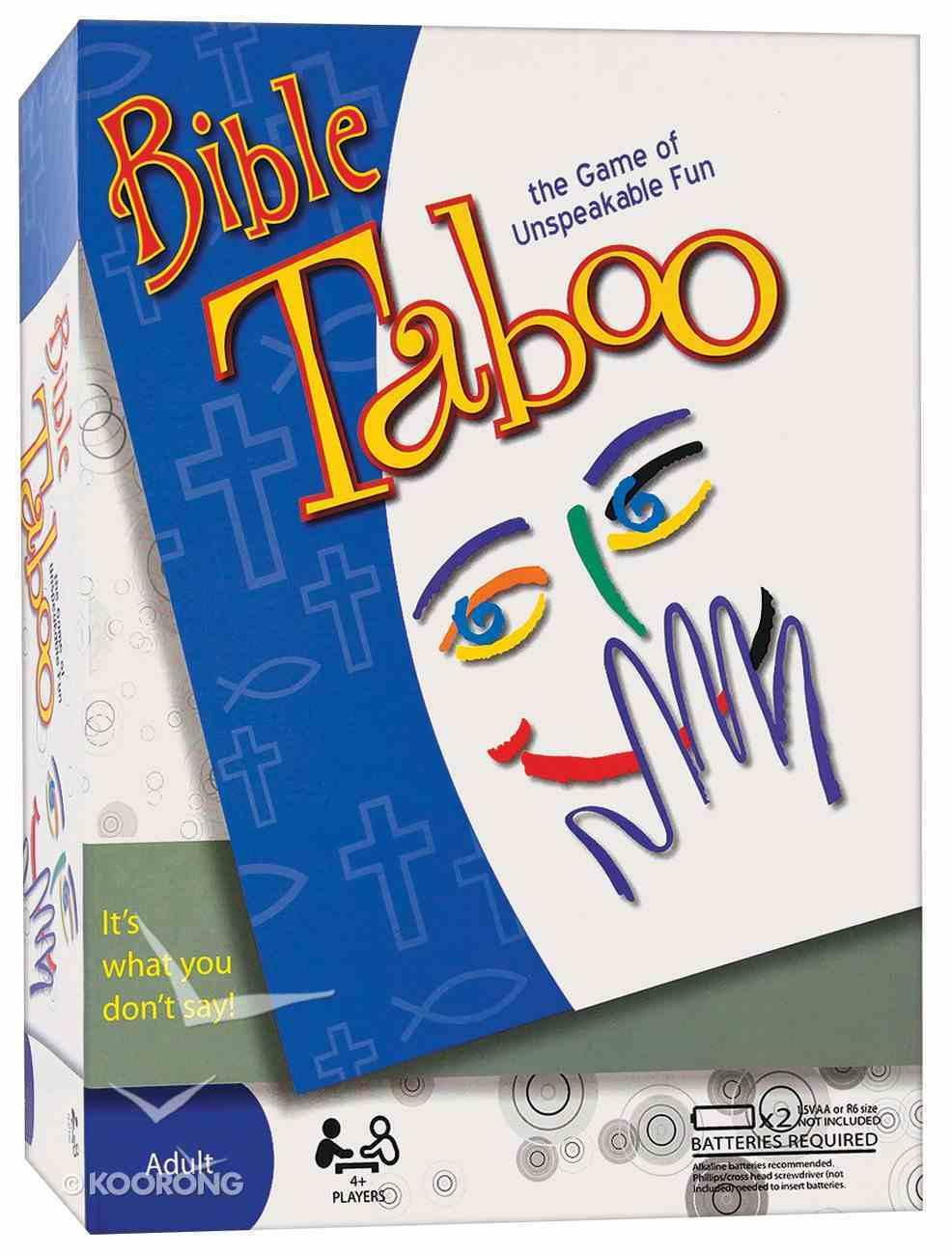 Bible Taboo Game Game