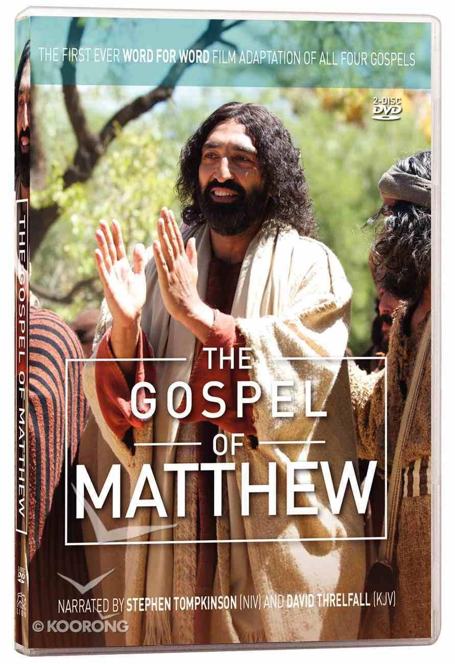 The Gospel of Matthew (2 DVDS) (The Lumo Project Series) DVD