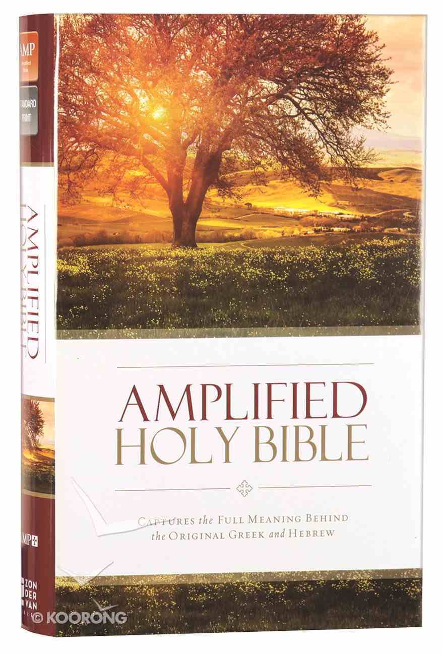 Amplified Holy Bible (Black Letter Edition) Hardback
