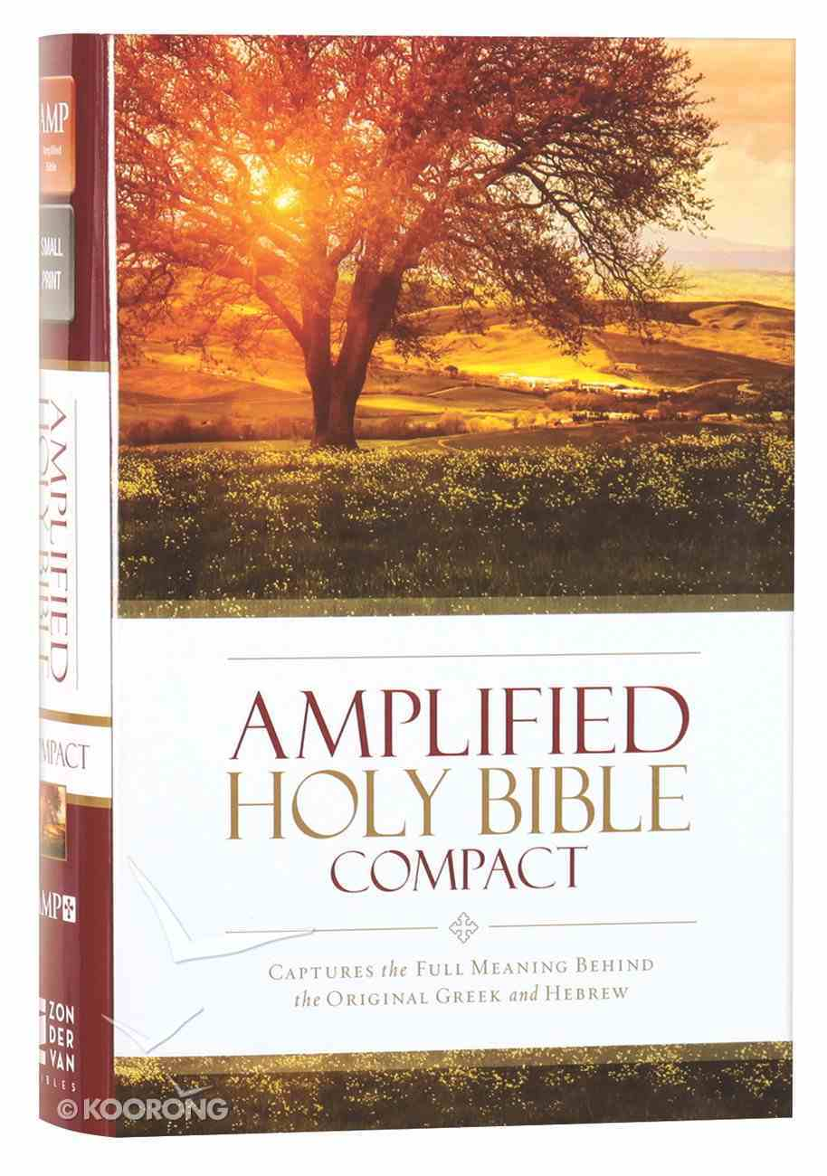 Amplified Holy Bible Compact (Black Letter Edition) Hardback