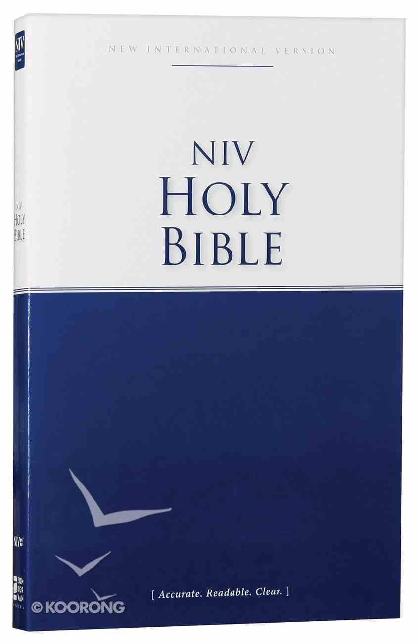 NIV Economy Outreach Bible (Black Letter Edition) Paperback