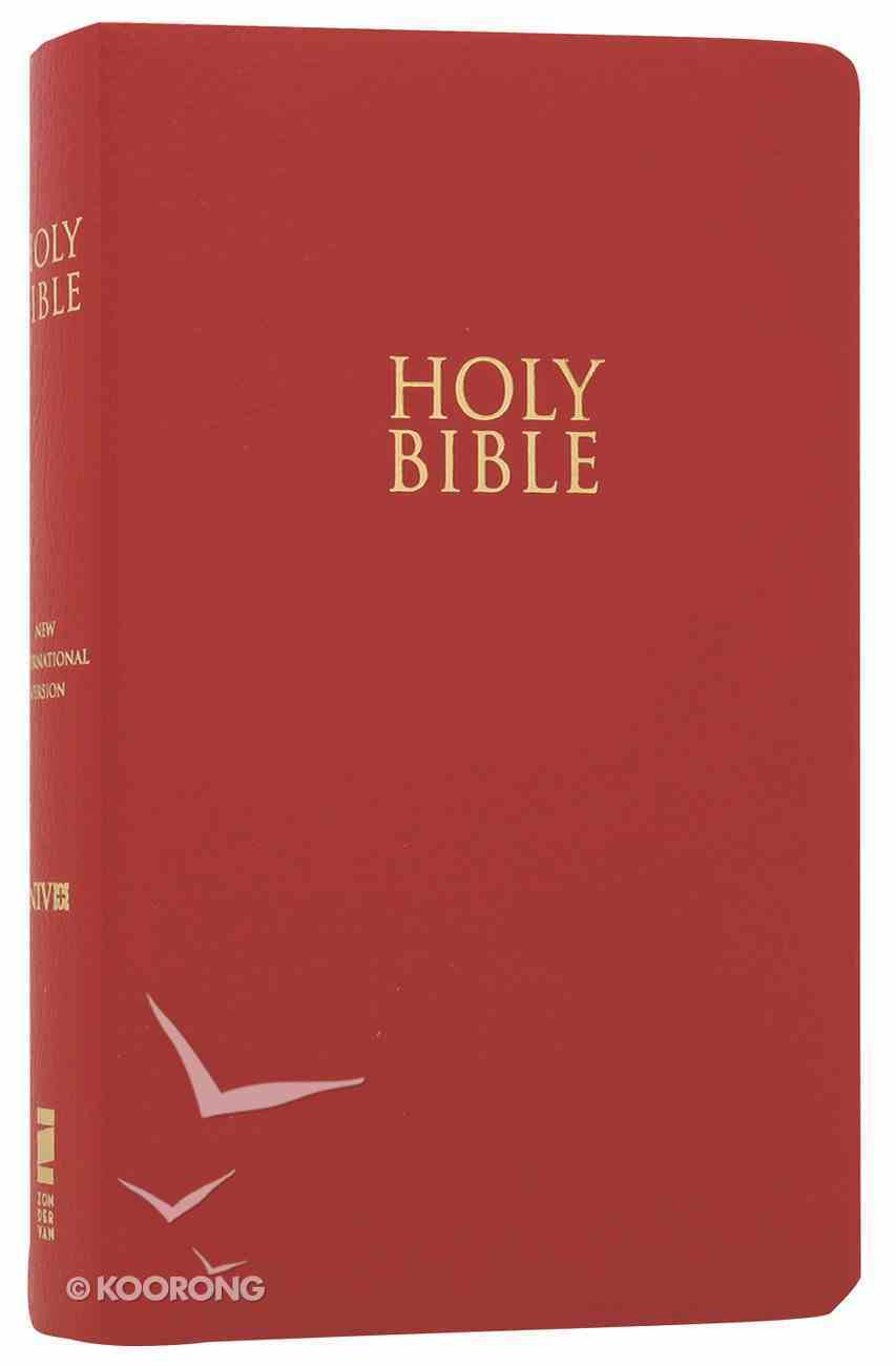NIV Gift & Award Bible For Kids Red (Red Letter Edition) Imitation Leather