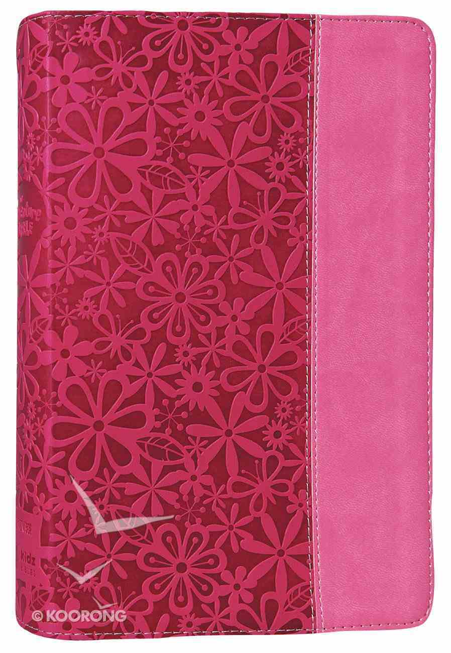 NIV Adventure Bible Raspberry Pink (Black Letter Edition) Premium Imitation Leather