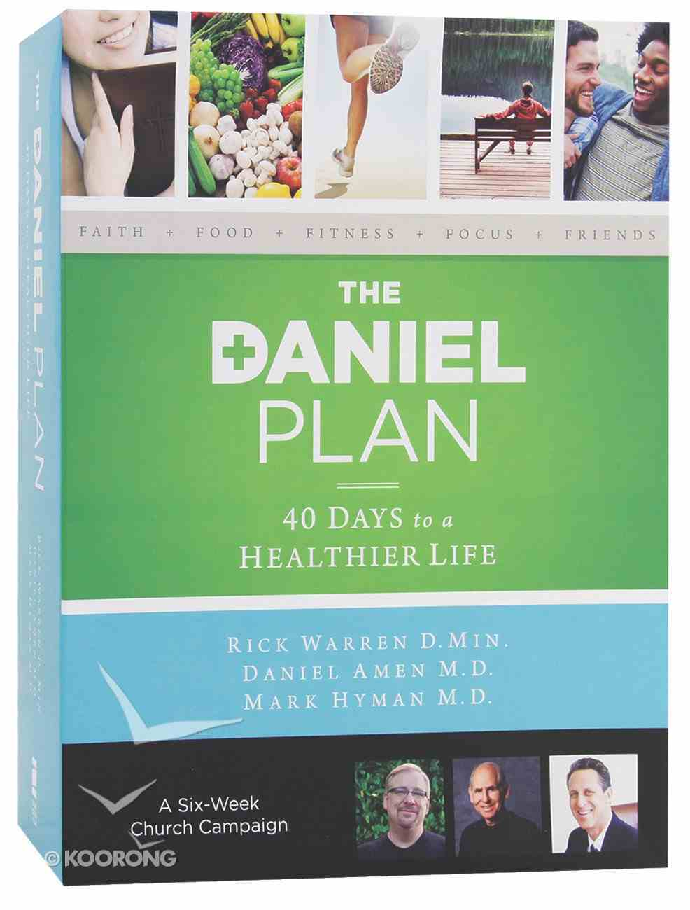 The Daniel Plan Church Campaign Kit Pack