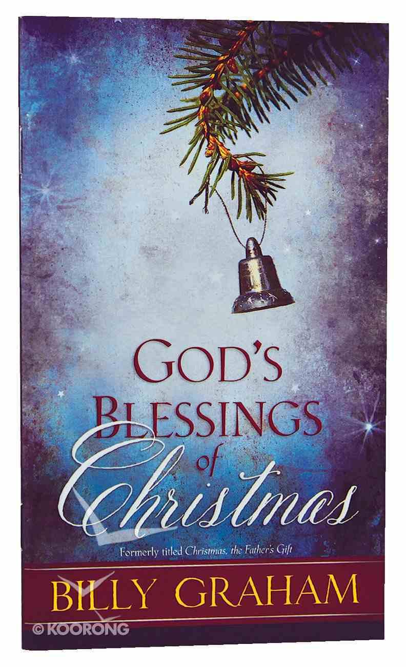 God's Blessings of Christmas Booklet