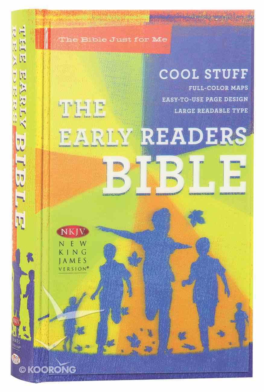 NKJV Early Readers Bible (Red Letter Edition) Hardback
