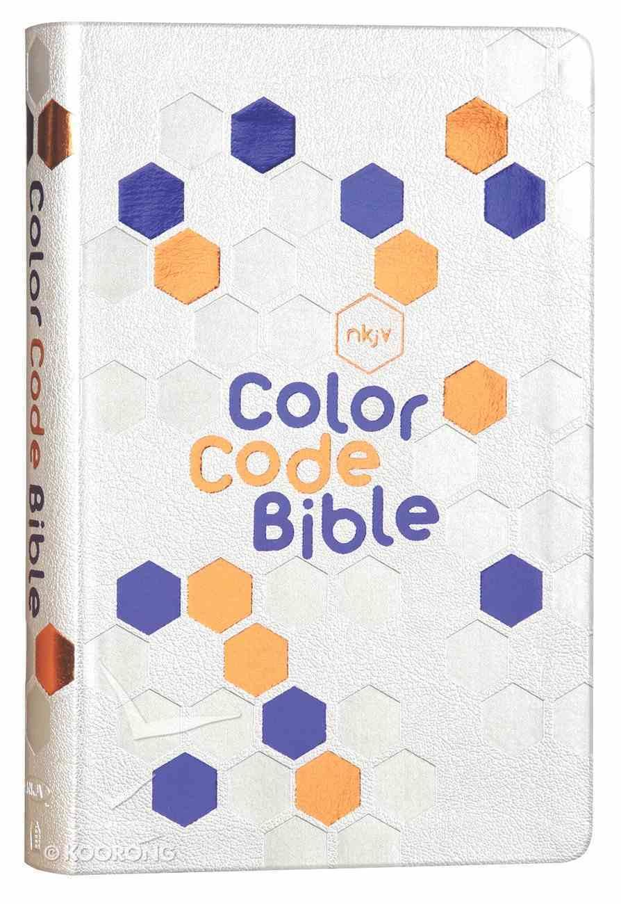 NKJV Color Code Bible Premium Imitation Leather