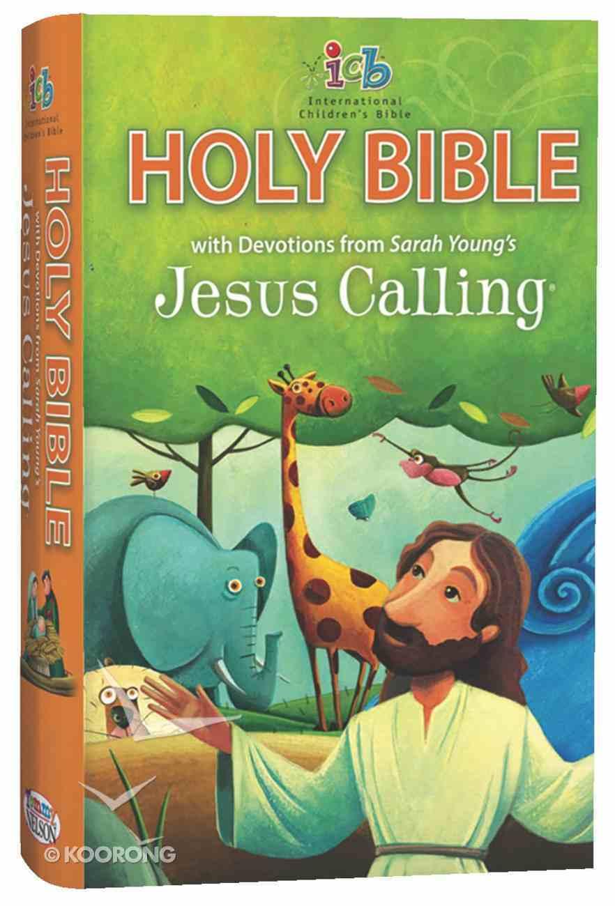 ICB Jesus Calling Bible For Children (Black Letter Edition) Hardback