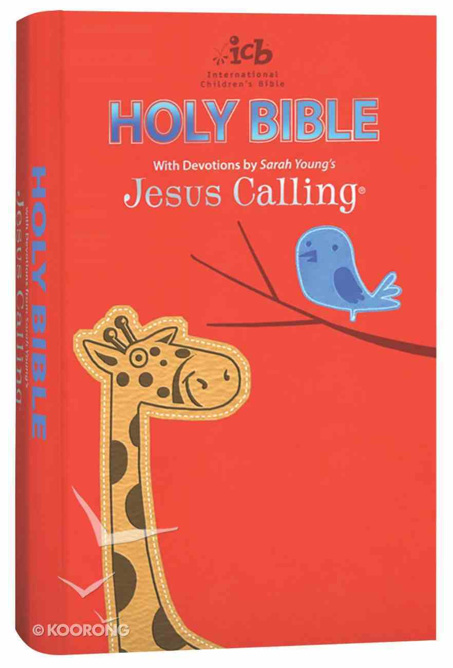 ICB Jesus Calling Bible For Children (Black Letter Edition) Premium Imitation Leather