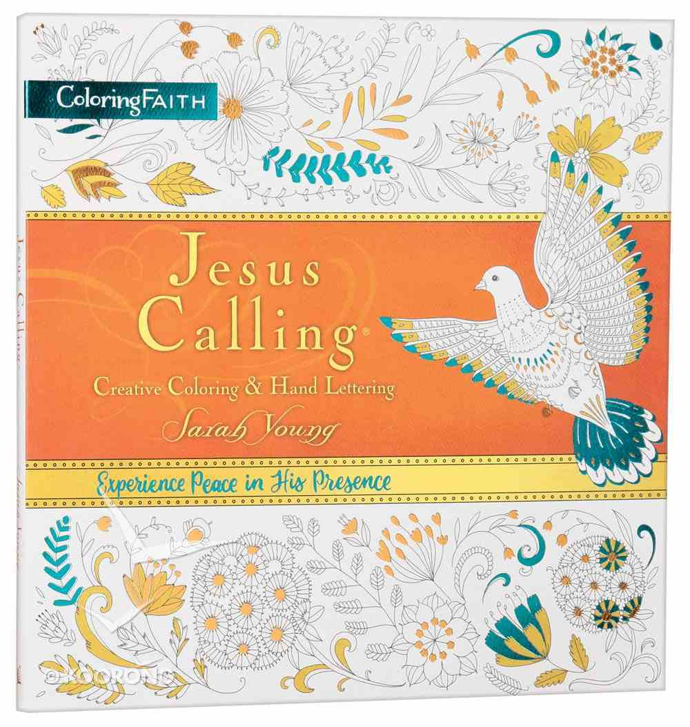 Jesus Calling - Creative Colouring and Hand Lettering (Adult Coloring Books Series) Paperback