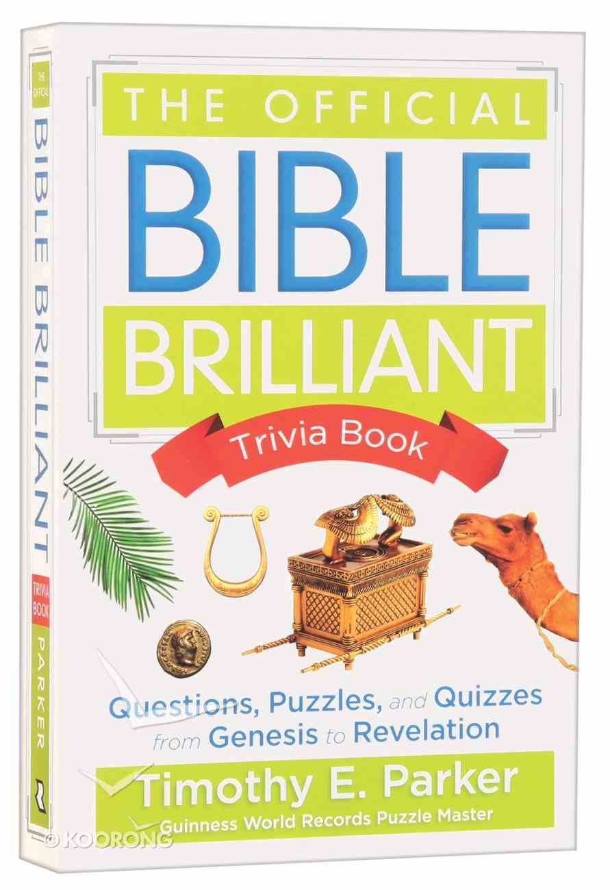 The Official Bible Brilliant Trivia Book Paperback