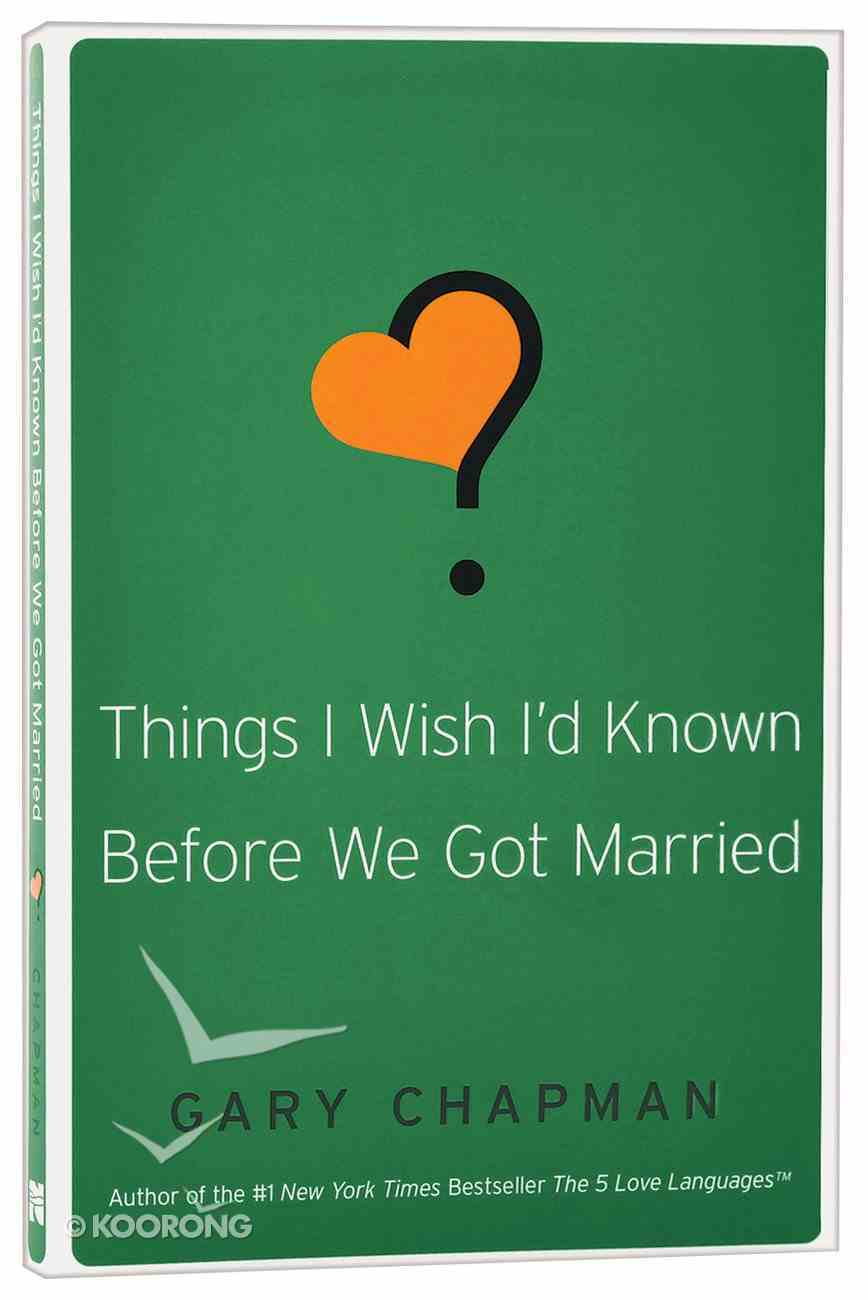 Things I Wish I'd Known Before We Got Married Paperback