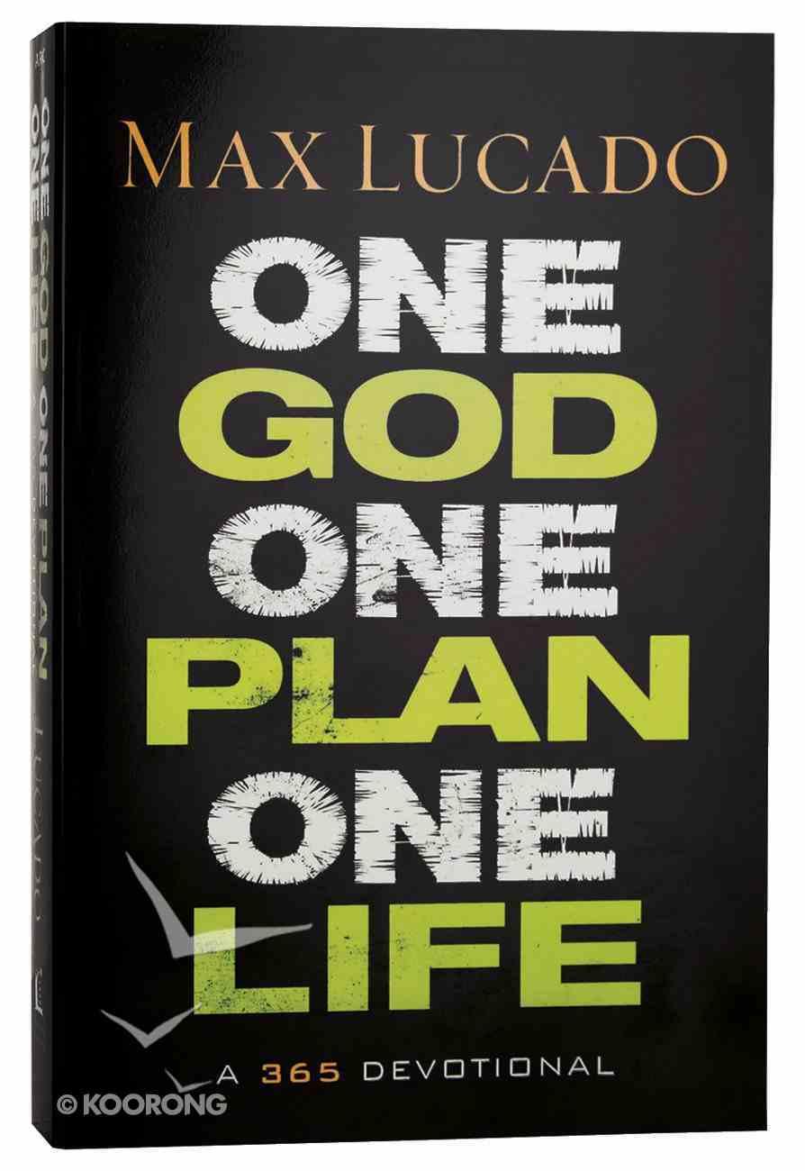 One God, One Plan, One Life Hardback