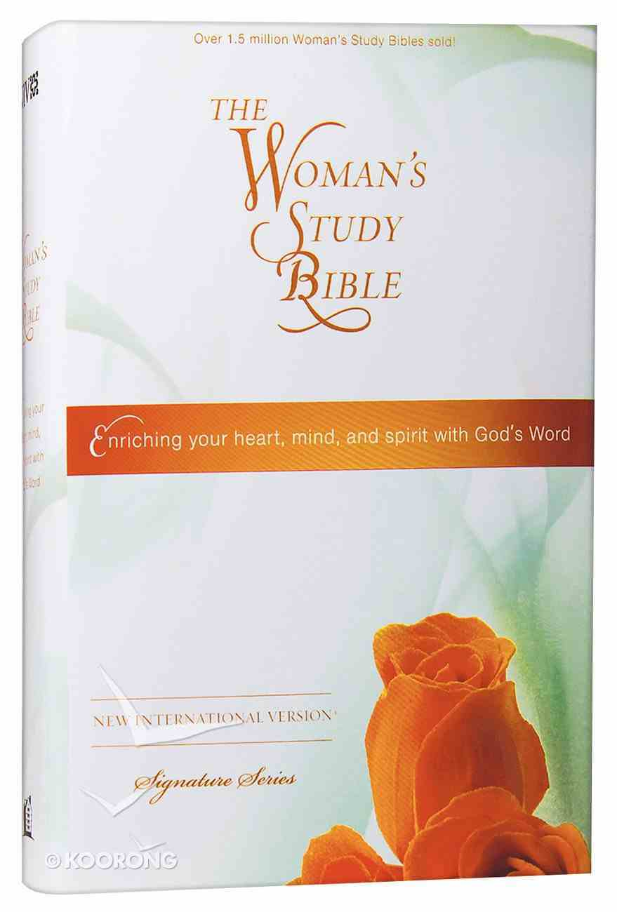 NIV Woman's Study Bible (Black Letter Edition) Hardback