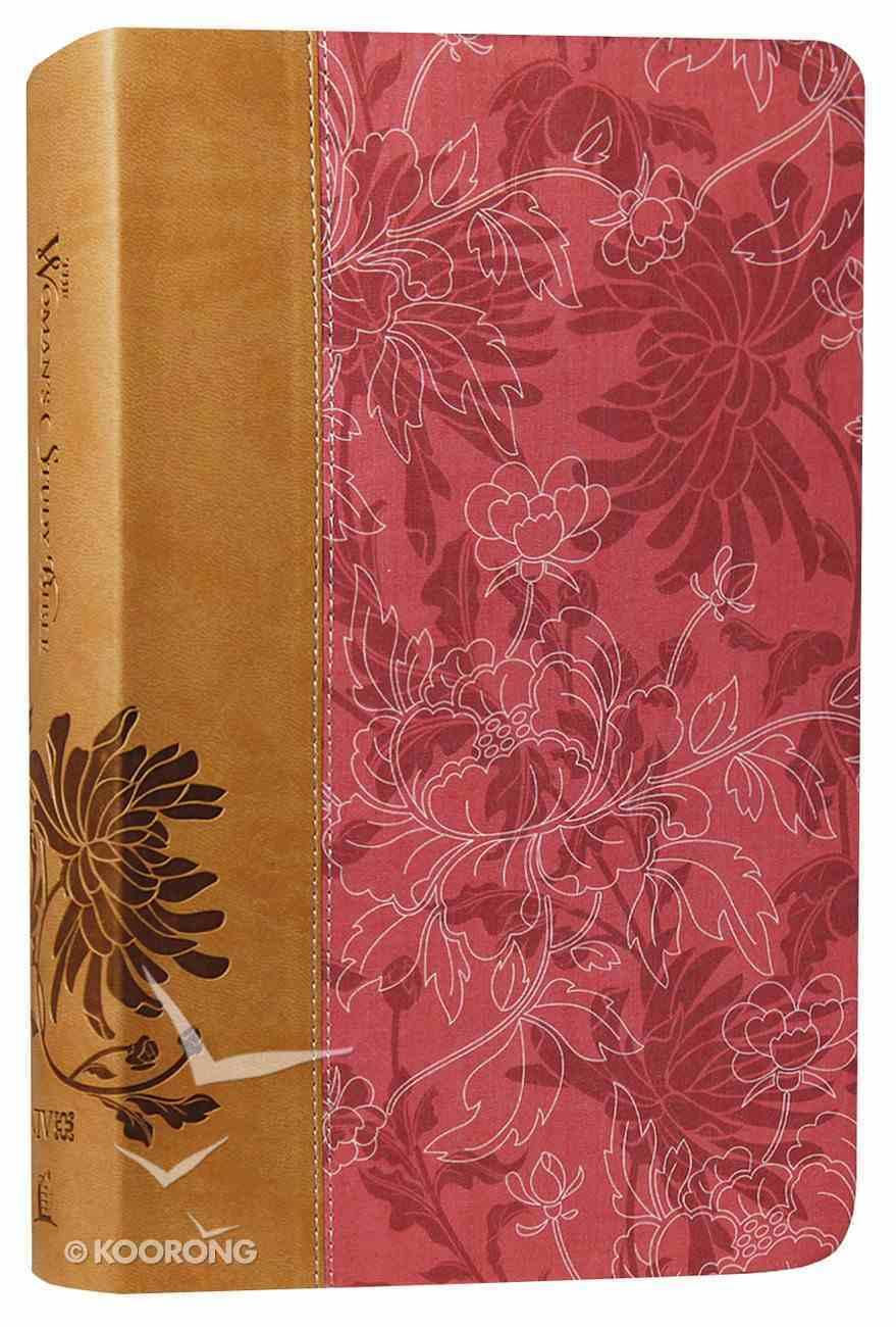 NIV Woman's Study Bible Pink Cafe Au Lait Imitation Leather