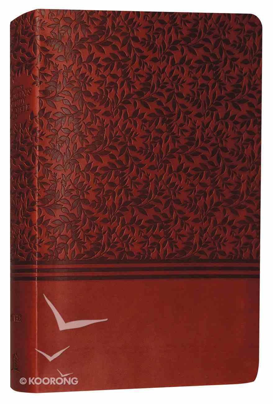 NIV Woman's Study Bible Auburn Leathersoft Premium Imitation Leather
