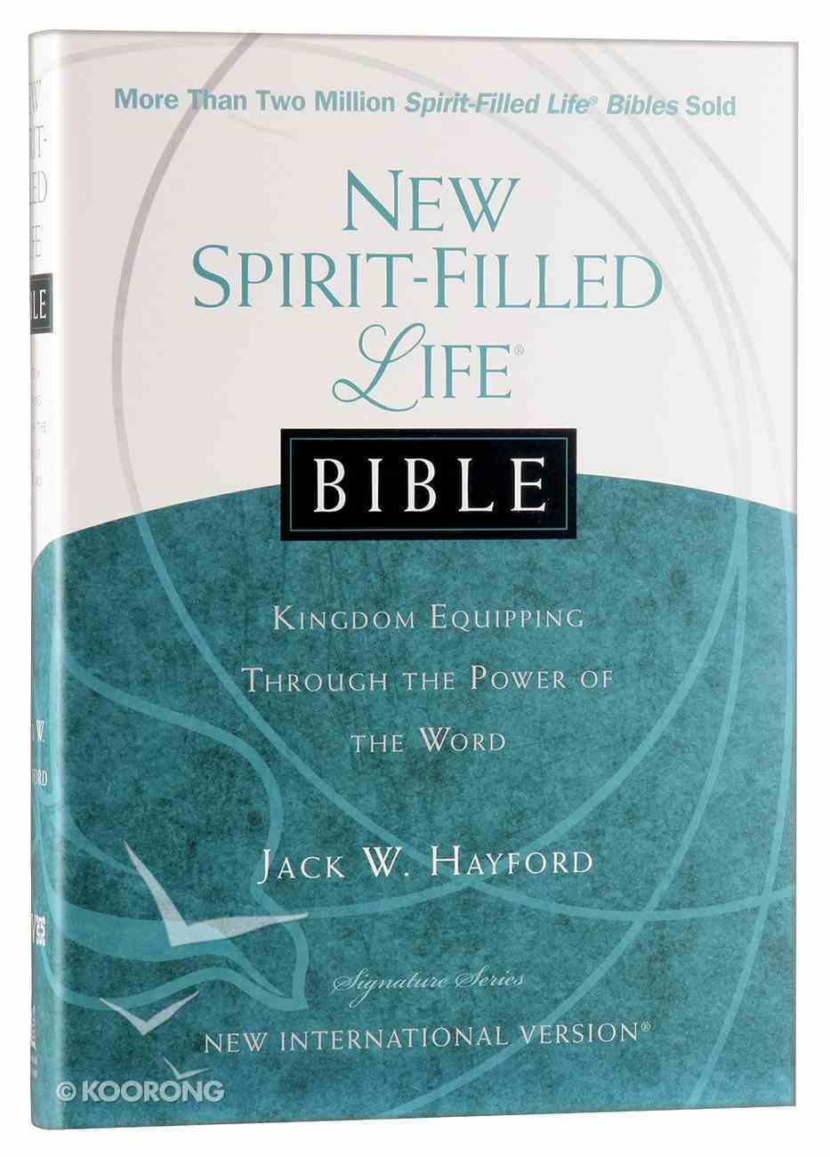NIV New Spirit-Filled Life Bible Hardback