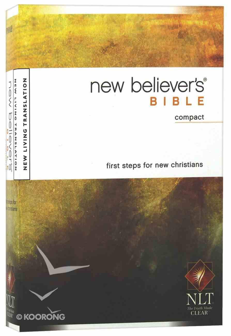 NLT New Believer's Compact Bible (Black Letter Edition) Paperback