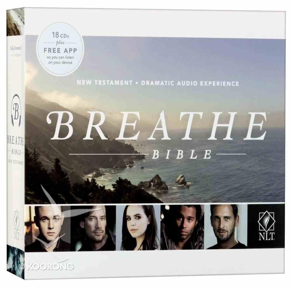 NLT Breathe Audio Bible New Testament (18 Cds) CD