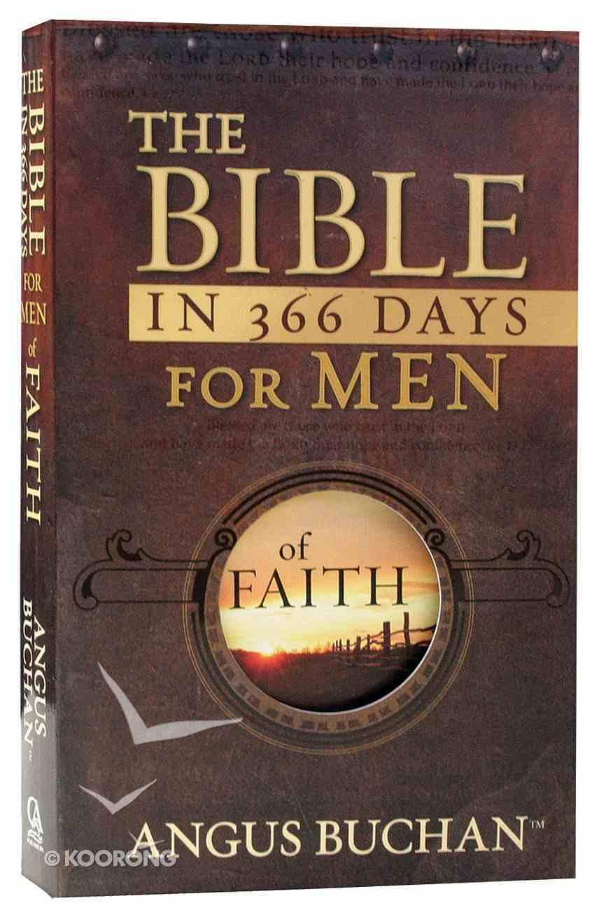 Bible in 366 Days For Men of Faith (Nlt) Paperback