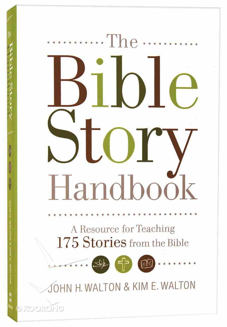 The Bible Story Handbook Paperback