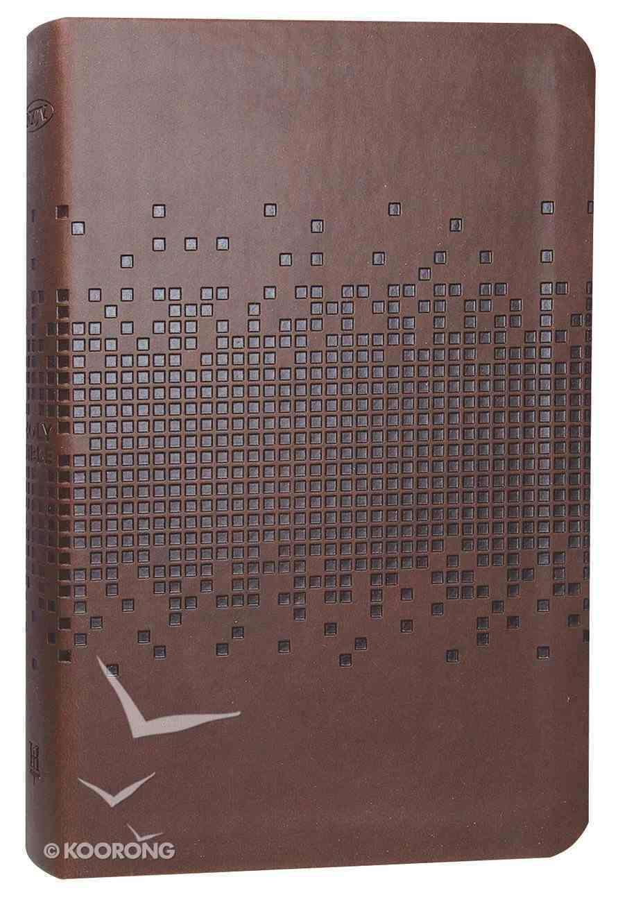 NKJV Deluxe Gift Bible Brown Leathertouch Imitation Leather