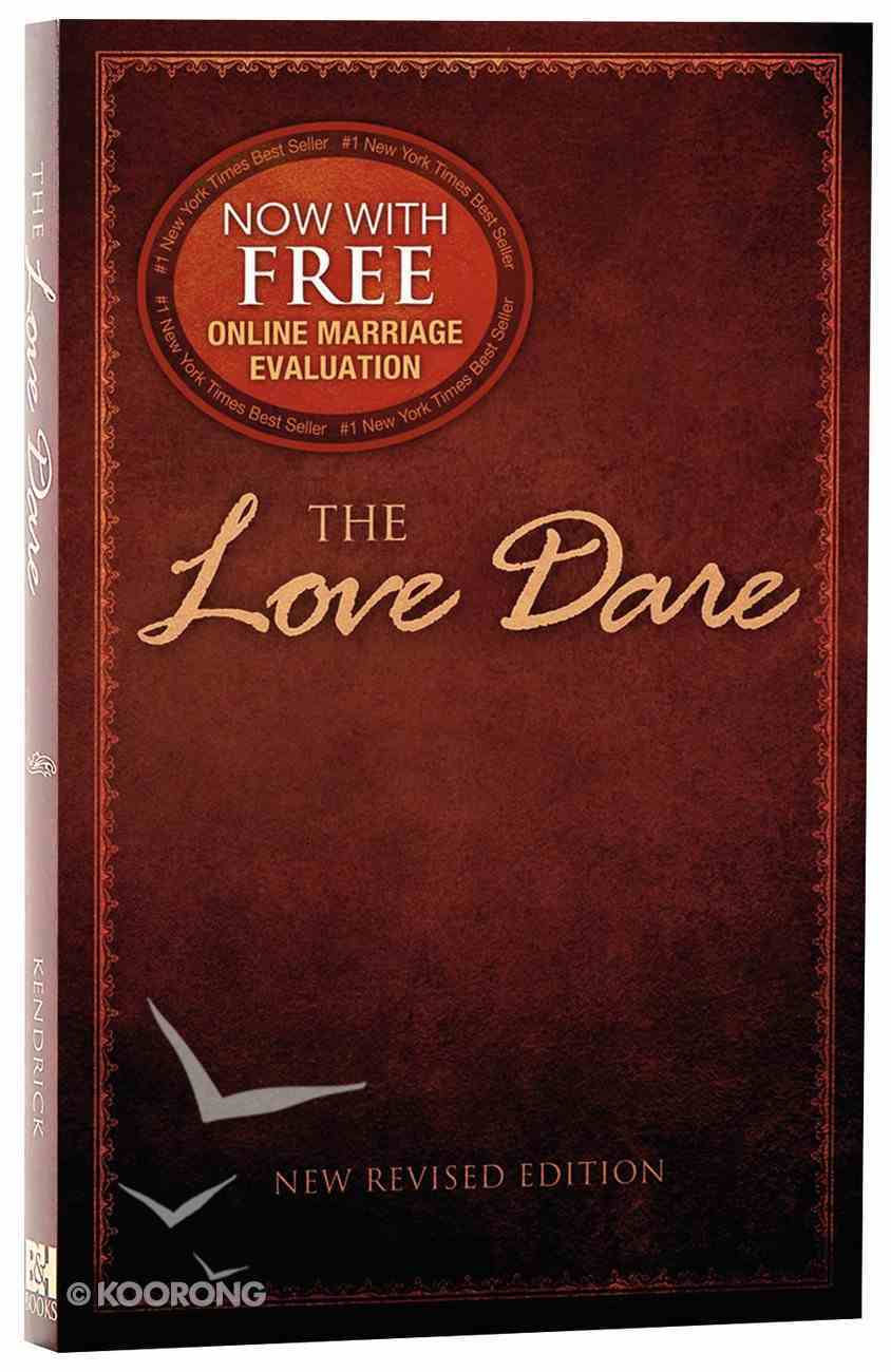 The Love Dare: A 40 Day Guided Devotional Paperback