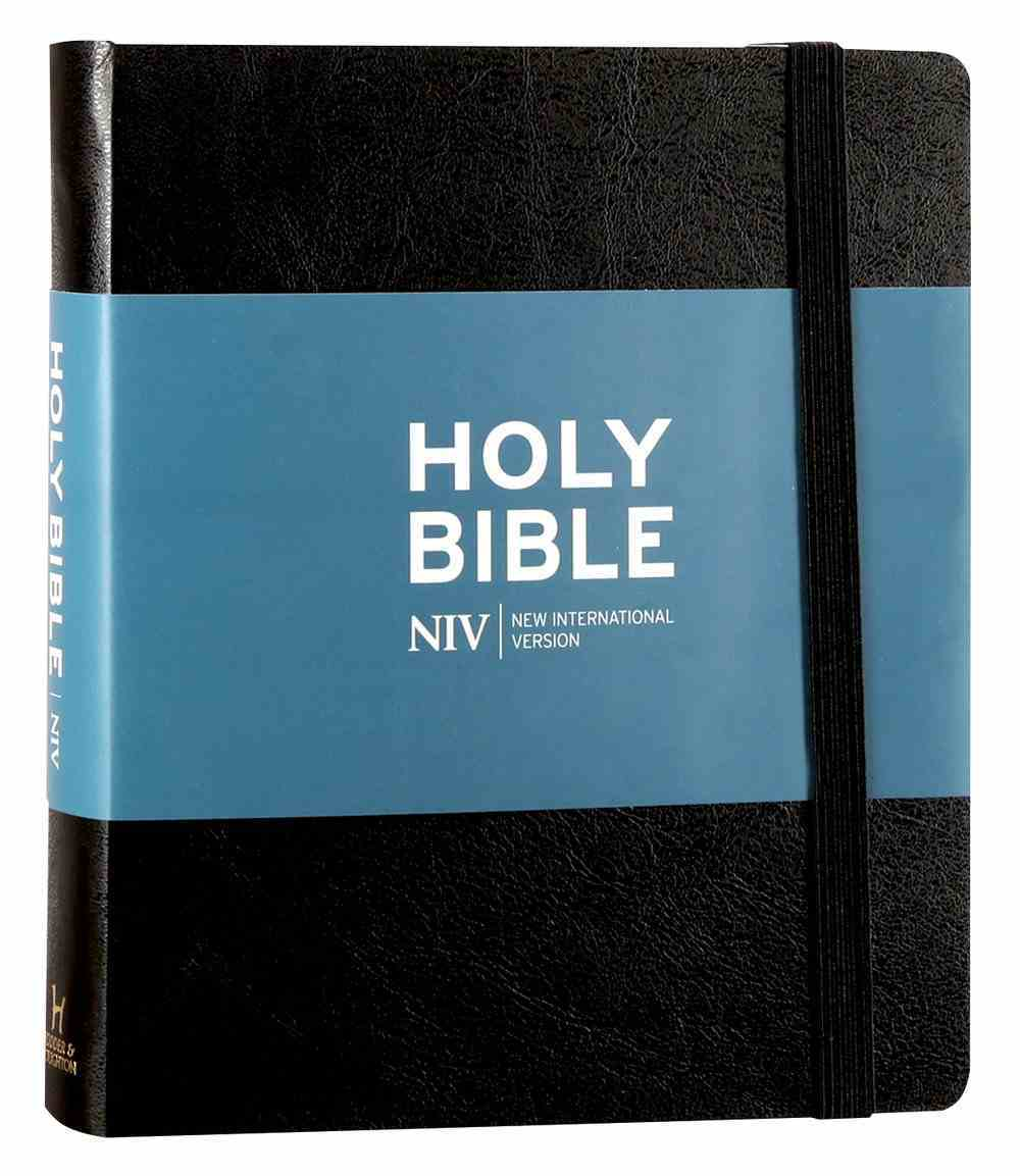 NIV Journalling Bible Black Hardback