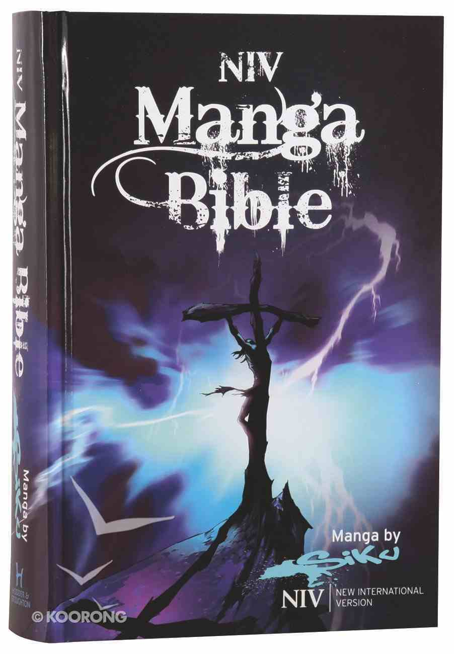 NIV Manga Bible (Black Letter Edition) Hardback