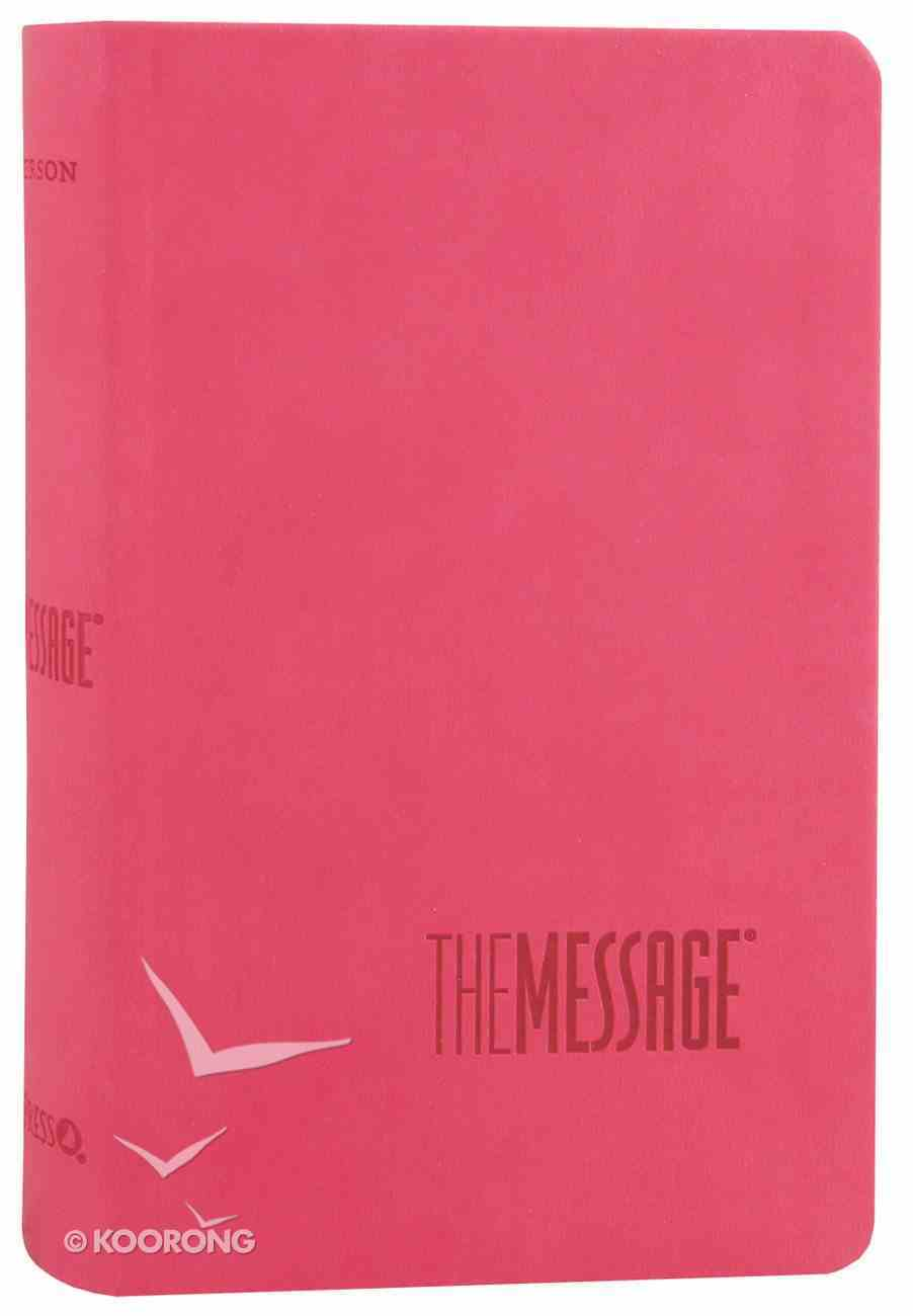 Message Numbered Compact Rose Pink Imitation Leather