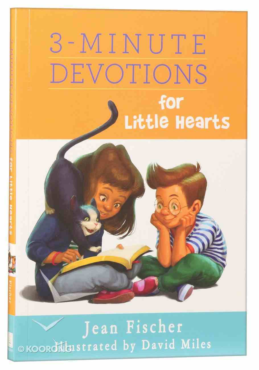 3-Minute Devotions For Little Hearts Paperback