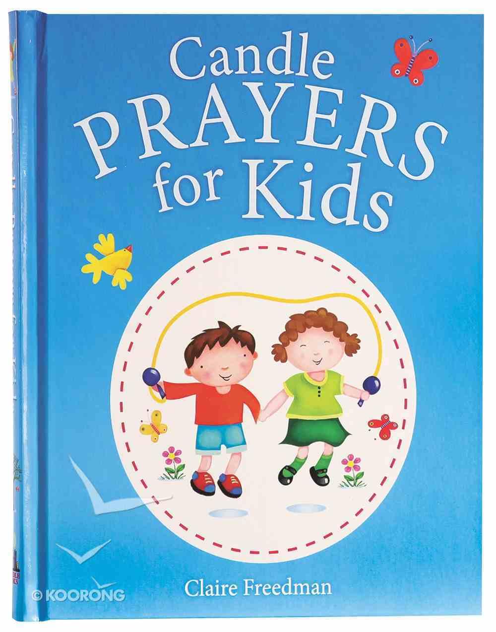 Candle Prayers For Kids Hardback