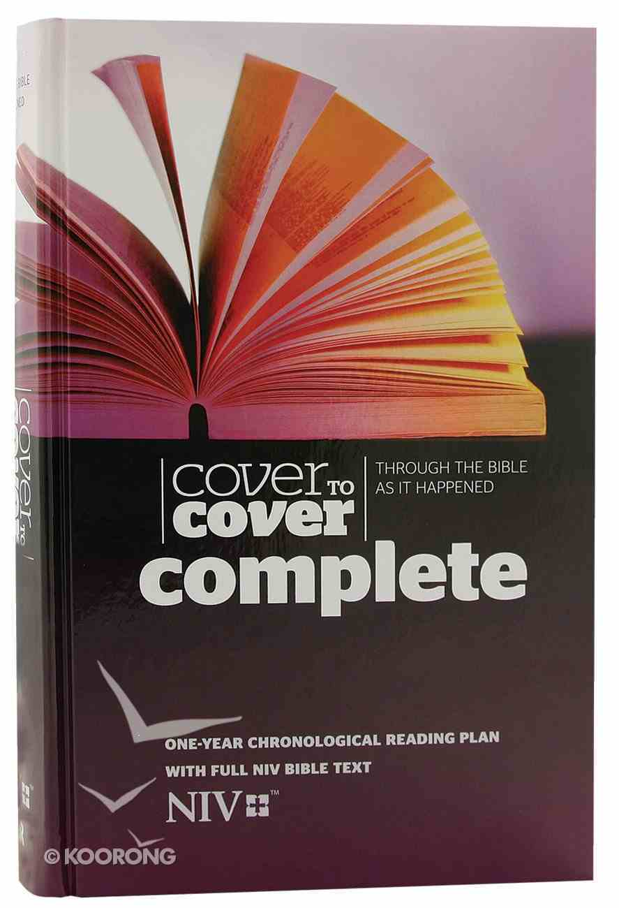 NIV Cover to Cover Complete Bible (Cover To Cover Series) Hardback
