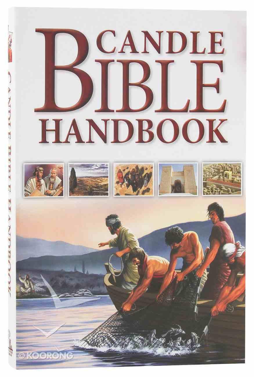 Candle Bible Handbook For Kids: Travel Through Bible History Flexi Back
