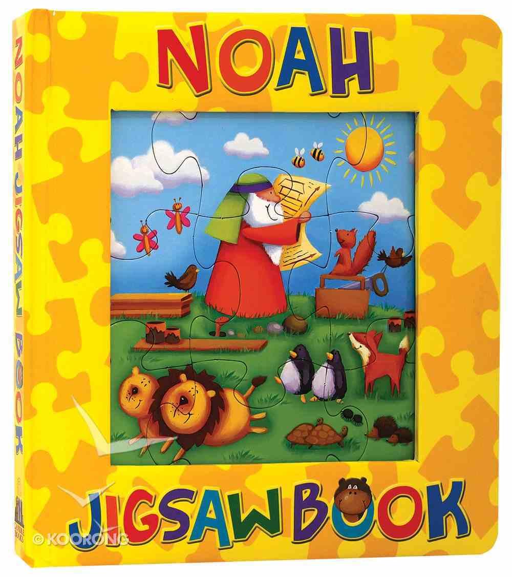 Noah Jigsaw Book Board Book