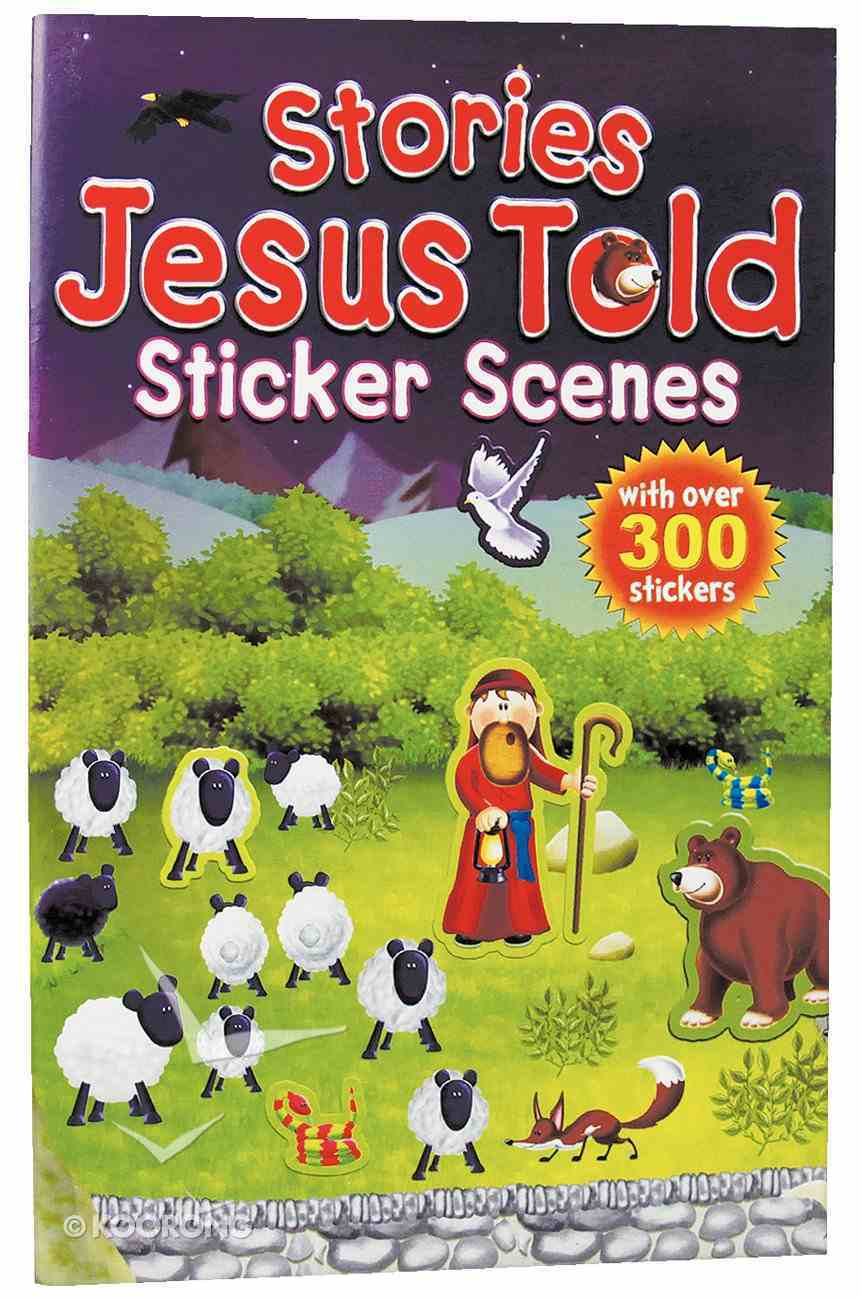 Stories Jesus Told (Candle Sticker Scenes Series) Paperback