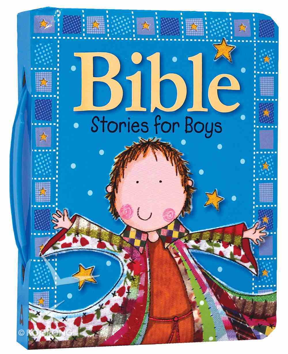 Bible Stories For Boys Padded Board Book